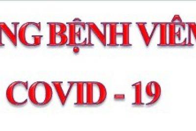 Triển khai cấp bách các biện pháp phòng chống dịch Covid-19
